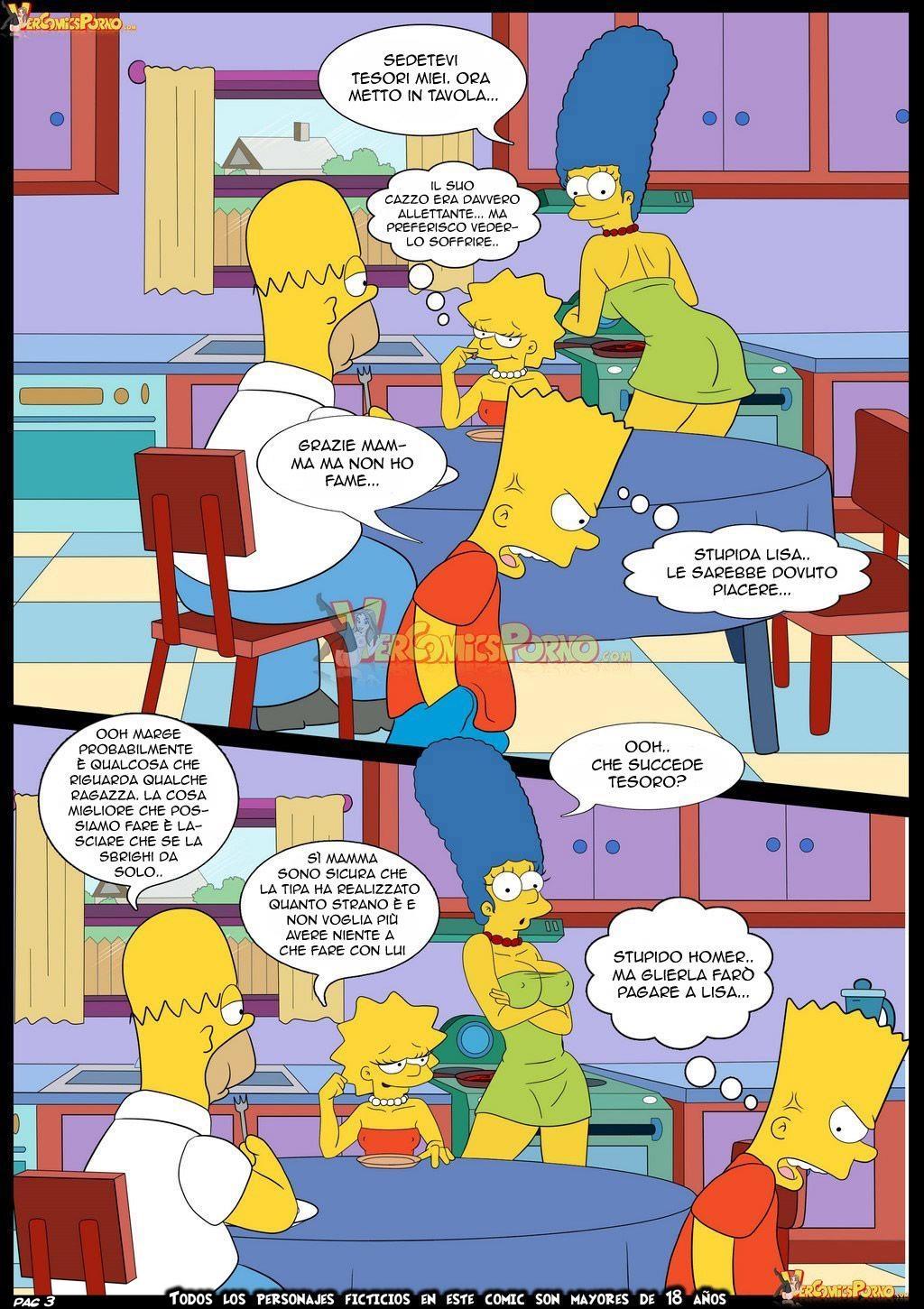 Simpso-Rama 1 (Italian) - page03 Crossover,Futurama,Simpsons,  xxx porn rule34