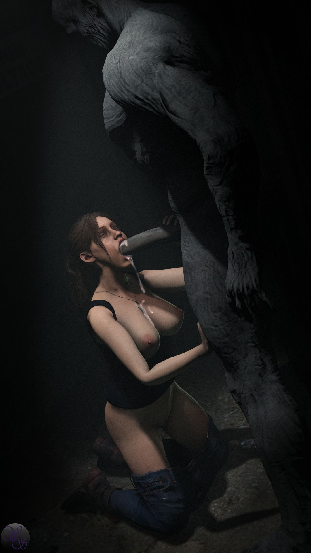 Claire and Mr. X -page03 Resident Evil,  xxx porn rule34
