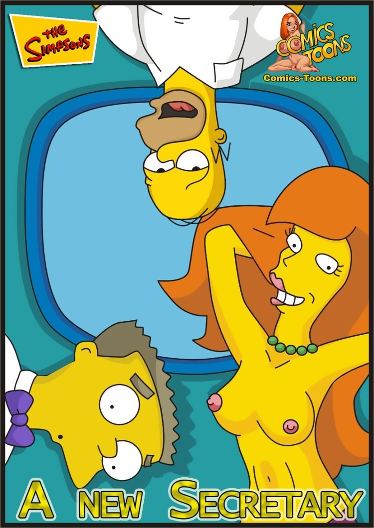 A New Secretary (Spanish) - page00 Cover Simpsons,  xxx porn rule34