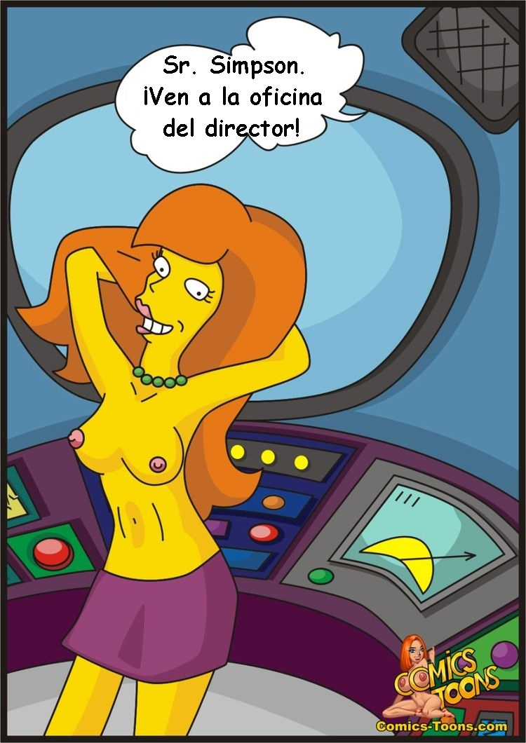 A New Secretary (Spanish) - page02 Simpsons,  xxx porn rule34