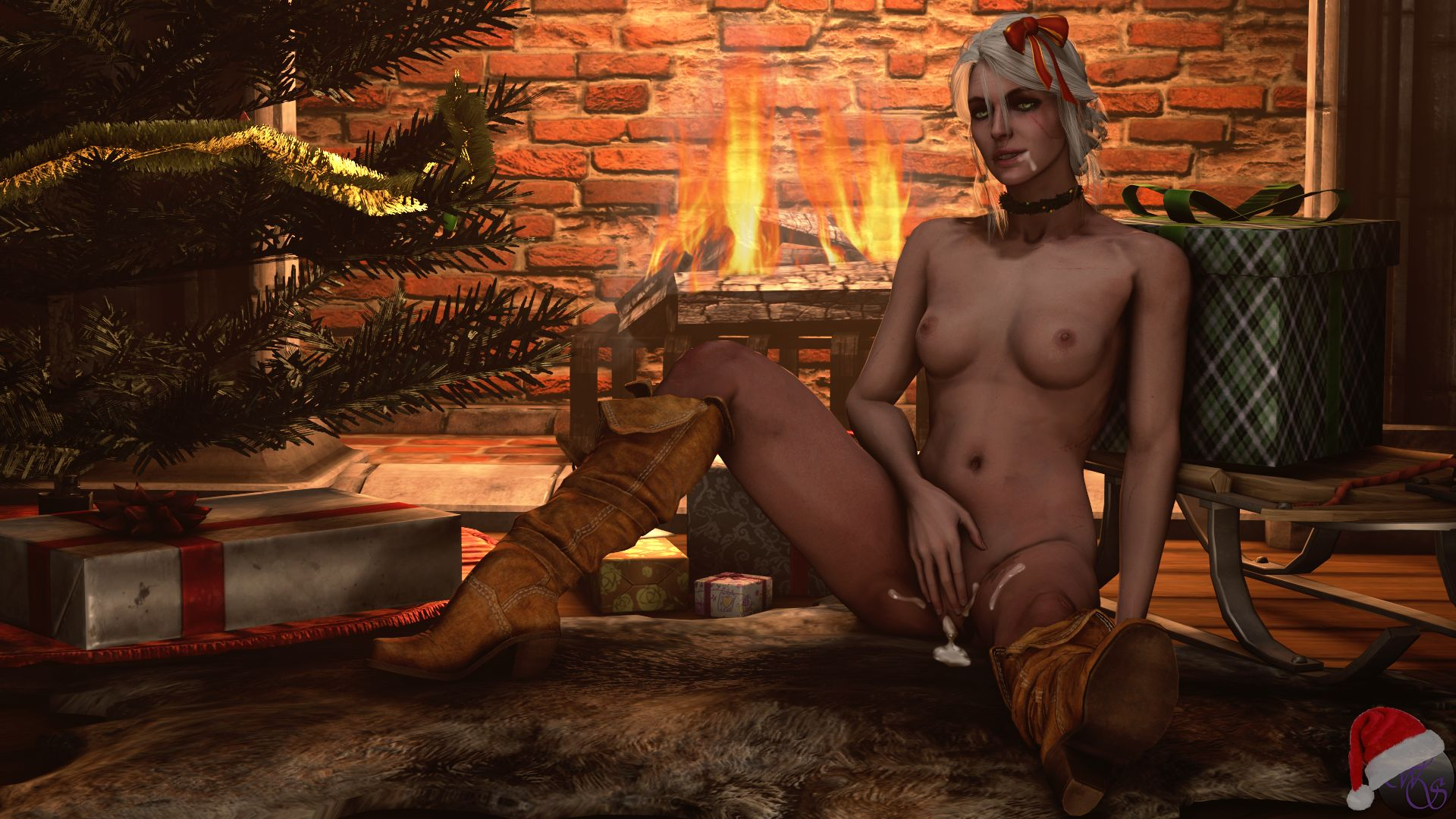 CiriChristmasMessy Witcher,  xxx porn rule34