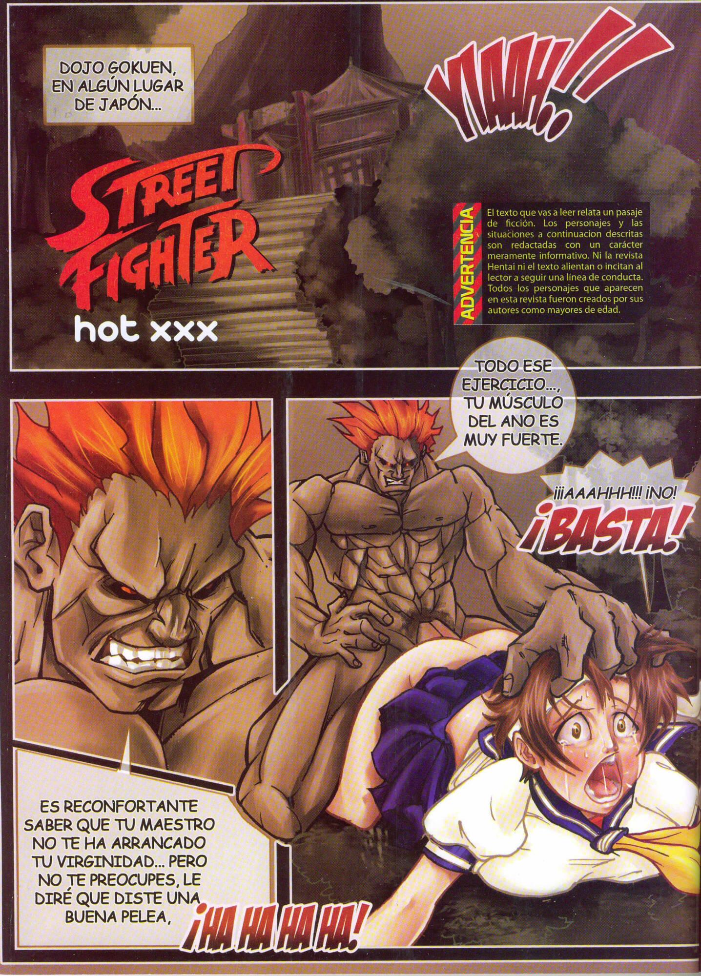 Street Fighter Hot XXX (Spanish) - page01 Capcom,Street Fighter,Tekken,  xxx porn rule34