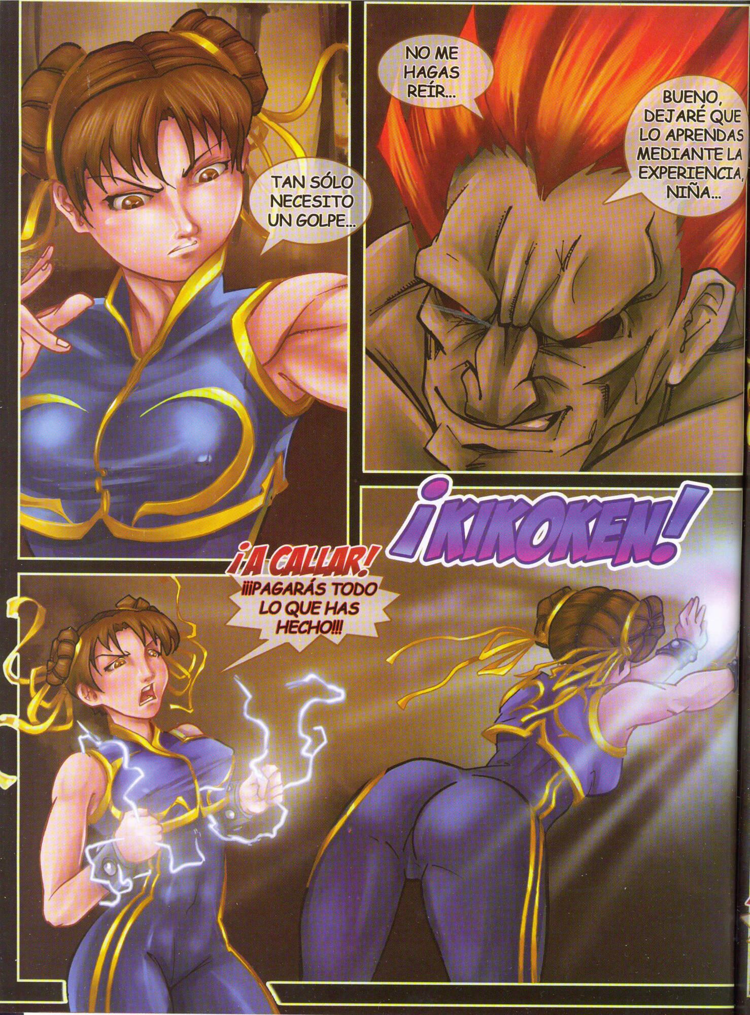Street Fighter Hot XXX (Spanish) - page03 Capcom,Street Fighter,Tekken,  xxx porn rule34