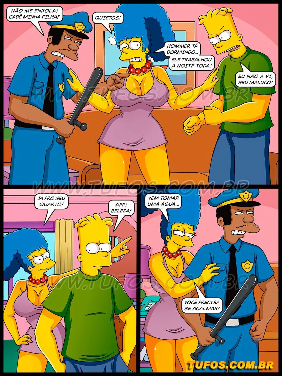 Os Simptoons 34 (Portuguese) - page03 Simpsons,  xxx porn rule34