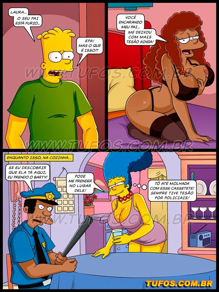 Os Simptoons 34 (Portuguese) - page04 Simpsons,  xxx porn rule34