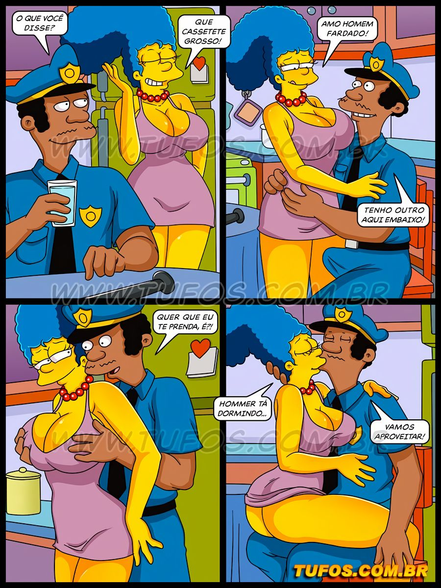 Os Simptoons 34 (Portuguese) - page05 Simpsons,  xxx porn rule34