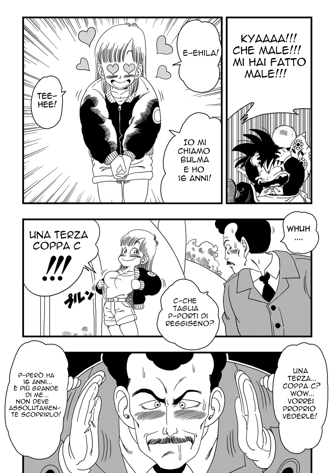 Oolong Also Misleads Bulma! (Italian) - page02 Dragon Ball,  xxx porn rule34