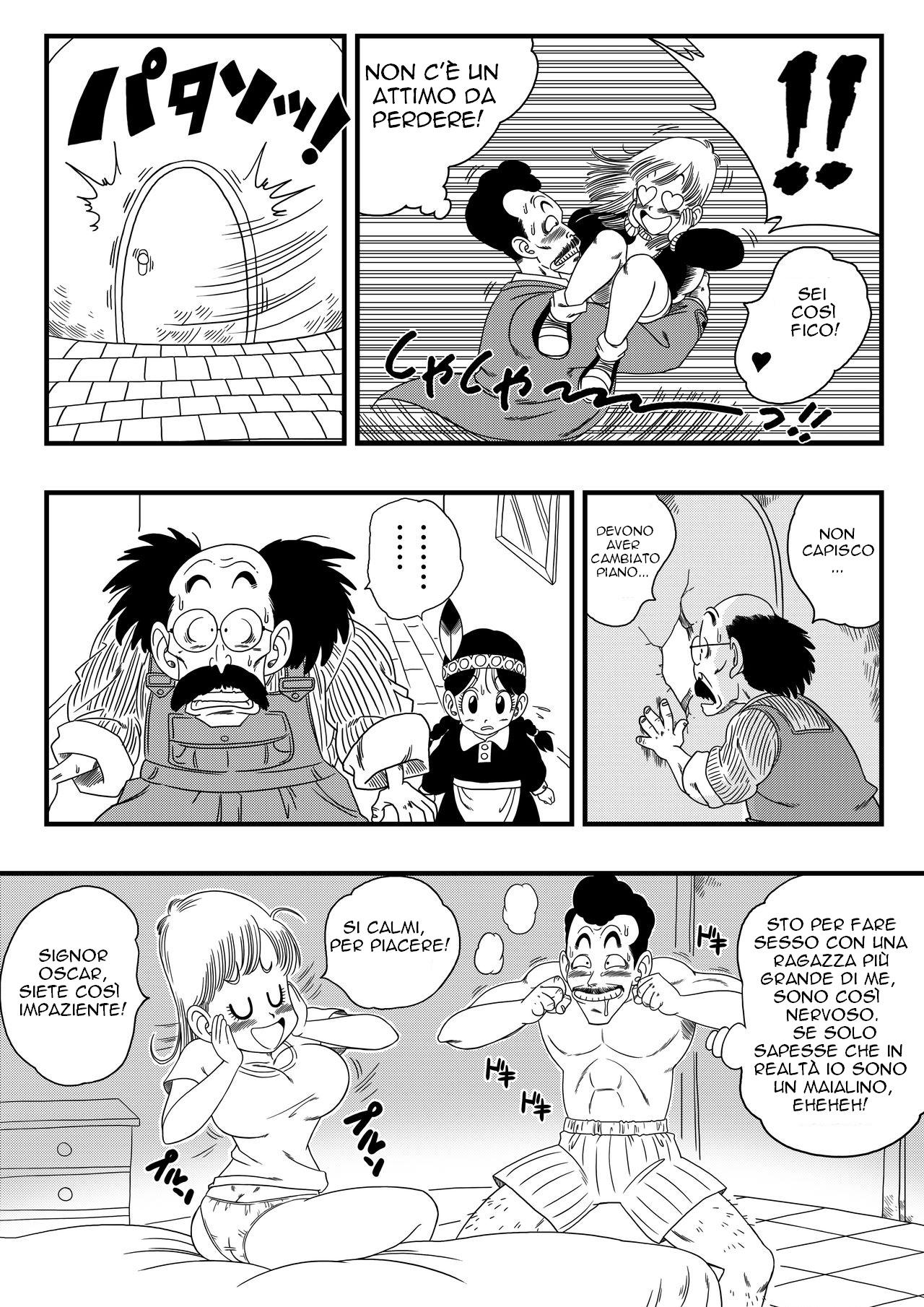 Oolong Also Misleads Bulma! (Italian) - page03 Dragon Ball,  xxx porn rule34