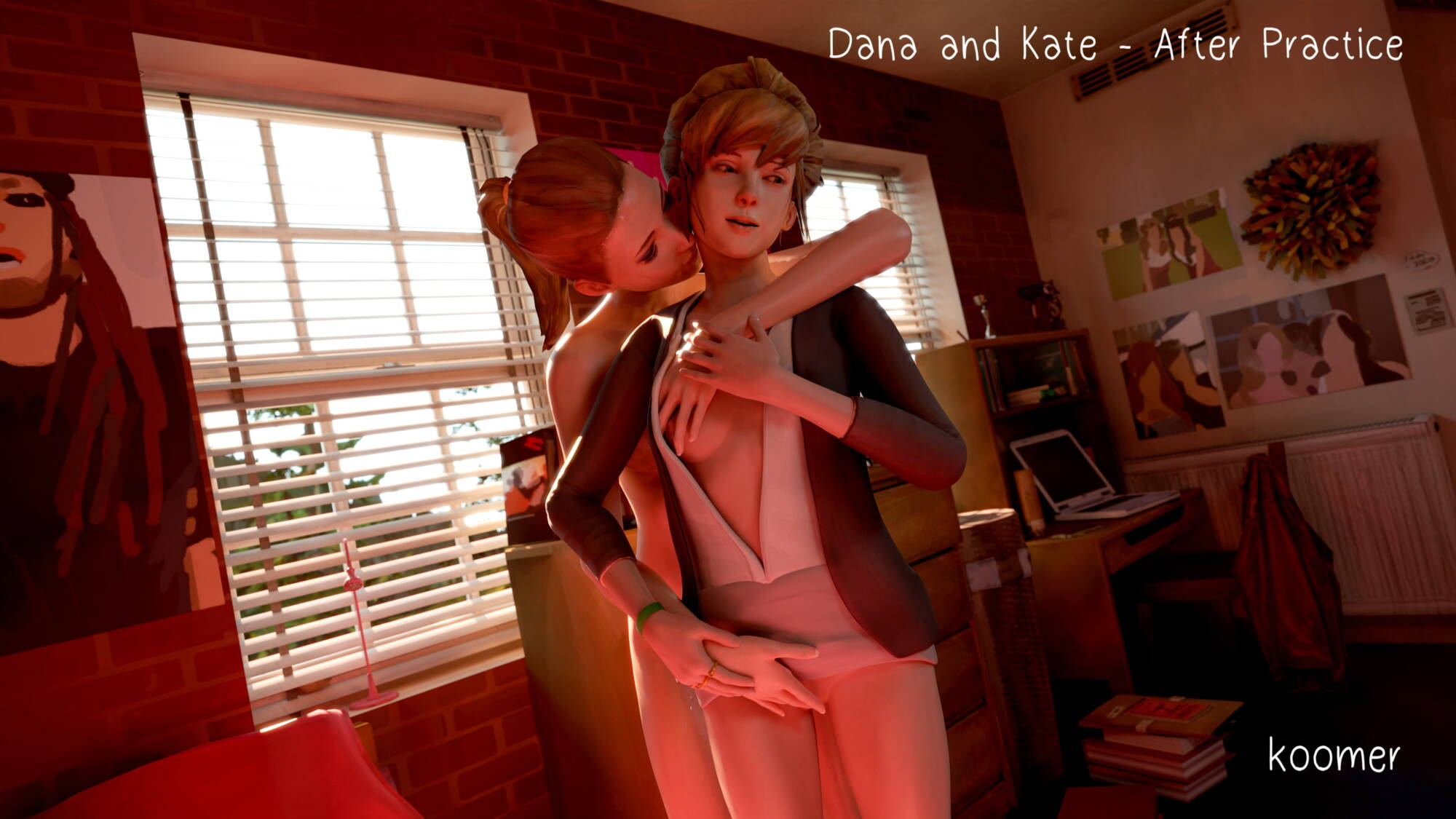 Dana and Kate - After Practice - page00 Cover Life Is Strange,  xxx porn rule34