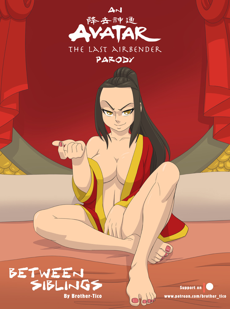 Between Siblings (Spanish) - page00 Cover Avatar the Last Airbender,  xxx porn rule34