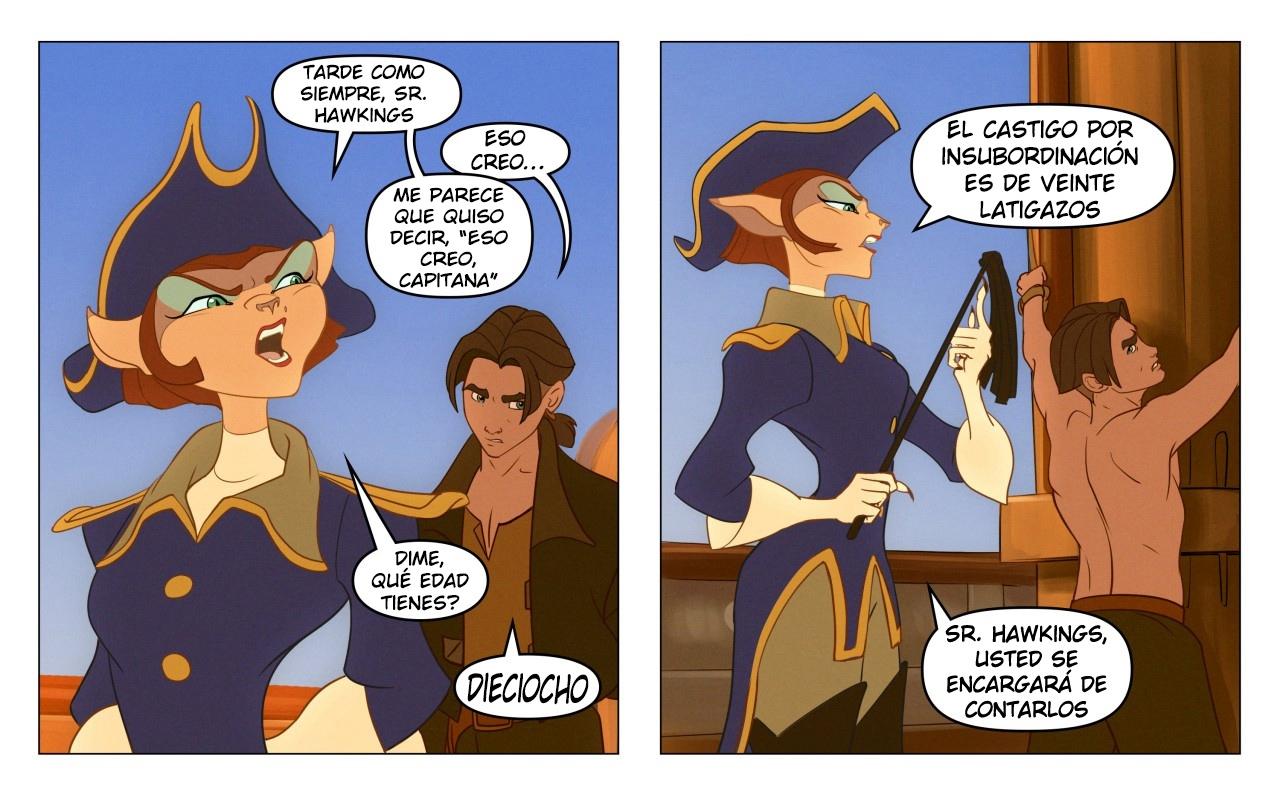 Captain's Orders (Spanish) - page01 Treasure Planet,  xxx porn rule34